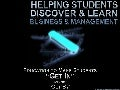 Helping Students discover & Learn - Business & Management