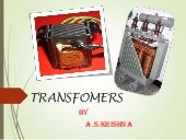 Electrical Transfomers