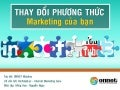 Thay đổi phương thức Marketing của bạn - Transform Your Marketing