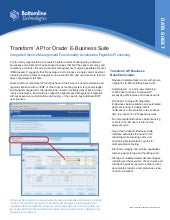 Transform AP: Integrated Invoice Pr...