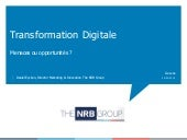 Transformation Digitale - Menaces e...