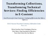 Transforming collections, transform...