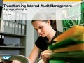 Survey 2014: Transforming Internal Audit Management