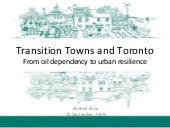 Transition Towns And Toronto   09 0...