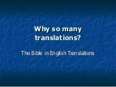 Biblical Translations