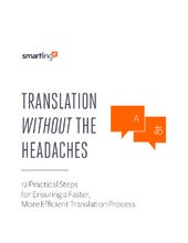 Translation without headaches