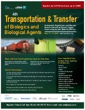 Transportaion Of Biologics Tlsse
