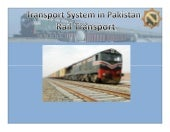 Transport System in Pakistan  - (( ...