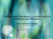 Traumatismo craniano – classificaçã...