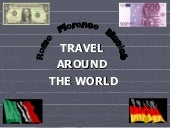 Travel Around The World Rome Floren...
