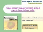 Treat Breast Cancer in India at bes...