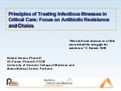 Treating Infectious Illness in the ICU