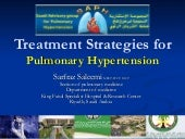 Treatment strategies for pulmonary ...