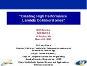 Creating High Performance Lambda Co...