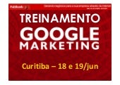 Treinamento google marketing   curi...