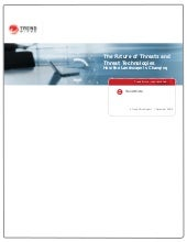 Trend Micro Annual Report:  The Fut...