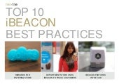 Top 10 ibeacon Trends by TrendONE