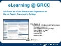 TRENDS Presentation - eLearning @ GRCC with Blackboard