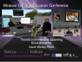 Trends in immersive learning enviro...