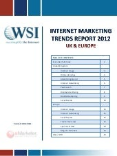Internet Marketing Trends Report 2012