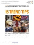 Trend-watching tips.