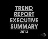 Trend watching report exec summary