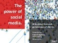 The Power of Social Media: Attracting the Next Generation of Clients - BDI 9/30 Financial Services Social Business Leadership Forum - San Francisco