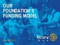 Securing Our Rotary Foundation's Future: The Rotary Foundation's Funding Model