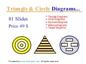Triangle & circle diagrams for powe...
