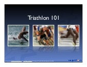 Triathlon 101 - Basics of the Olymp...