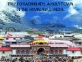 Trip to badrinath, a holy town in (nx power lite)
