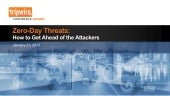 Zero-Day Threats: How to Get Ahead of Attackers with Threat Intelligence