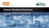 Network Situational Awareness using Tripwire IP360