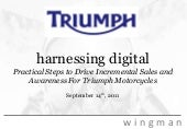 Triumph   digital media presentatio...
