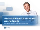 Enterprise Web sites – Connecting w...
