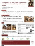 Determinants of use of breeding technologies in small to medium scale dairy cattle farms in Senegal