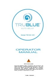 Trublue autobelay-operators-manual