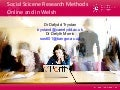 C-SAP e-learning forum: Social science research methods in Welsh