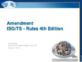 ISO/TS 16949 Rules 4th edition trai...