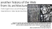 Another history of the Web from its architecture