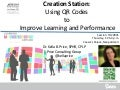 ASTD Techknowledge 2014 Creation Station: Using QR Codes to Improve Performance
