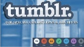 Tumblr for Special Collections Workshop