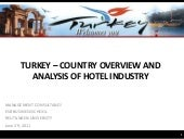 Turkey country overview and hotel i...