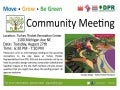 Turkey Thicket Recreation Community Meeting (August 27th)