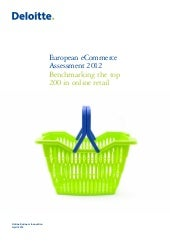 European eCommerce Assessment  2012