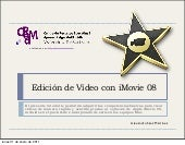 Edición de vídeo con iMovie'08