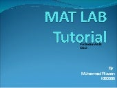 Matlab Basic Tutorial