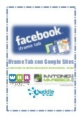 Pagina Facebook: utilizzo di un iframe tab e di google sites per costruire un welcome site [tutorial]