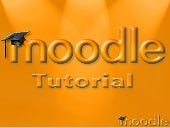 Tutorial Moodle - Edutic 2007