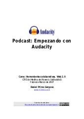 Tutorial audacity 2